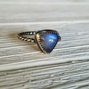 Jewelry - Sterling silver moonstone